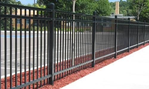 Steel and Aluminum Fence Installation Boston