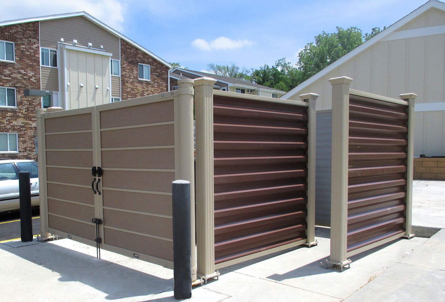 Dumpster Enclosures Installation Boston