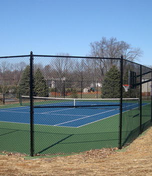 Tennis Courts Fence Installation Boston